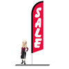Sale Red Feather Flags 15ft