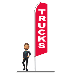 Trucks Swooper Flags 15ft
