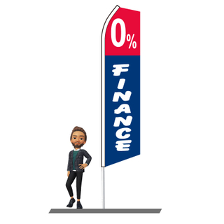 0% Finance Swooper Flags 15ft