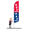 Buy Here Pay Here Feather Flags 15ft
